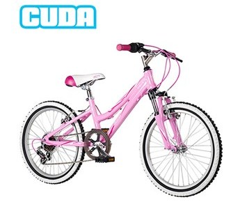 Review of Barracuda Girls Pink 24 XC bike