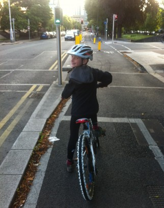 Dublin traffic lights