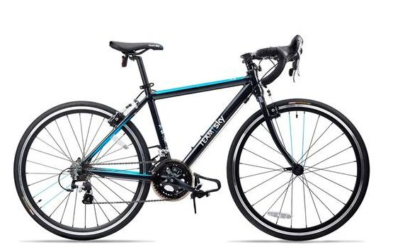 "The best road racing bikes for kids - 20"" wheels - The Frog Road 58 in Team Sky colours"