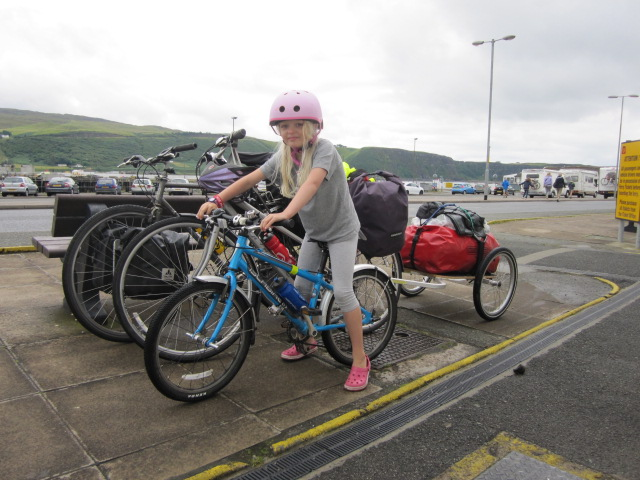 Setting out from Uig, Skye