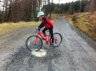 Islabikes Beinn out in the forest