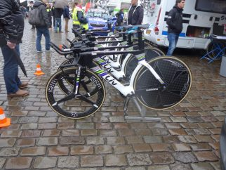 Liv Bikes at the Groningen time trial
