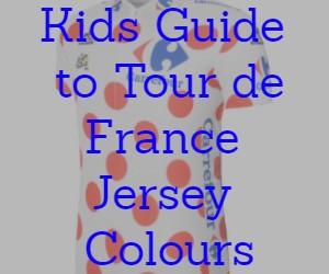 Kids Guide to Tour de France Jersey Colours