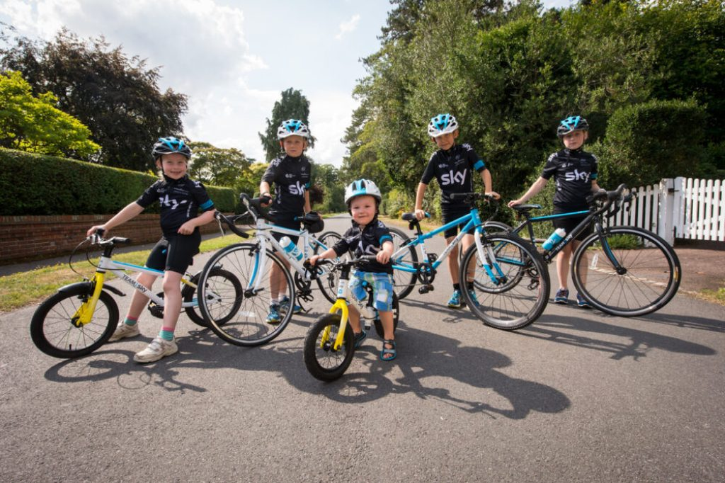 Team Sky Kids bike range