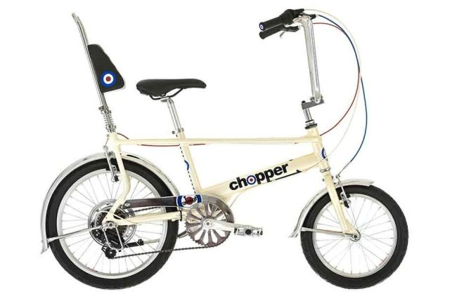 The Raleigh Chopper has been brought back in this limited edition for kids to enjoy!