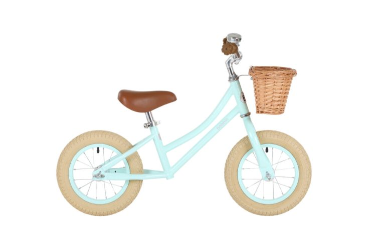 Bobbins Bikes Gingersnap Mint Green balance bikes