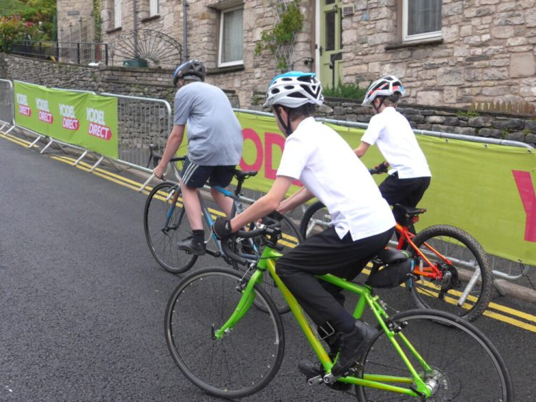 Team Cycle Sprog on Beast Banks - Tour of Britain 2016