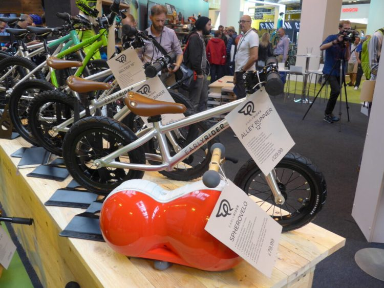 Early Rider Balance Bikes at the NEC Cycle Show