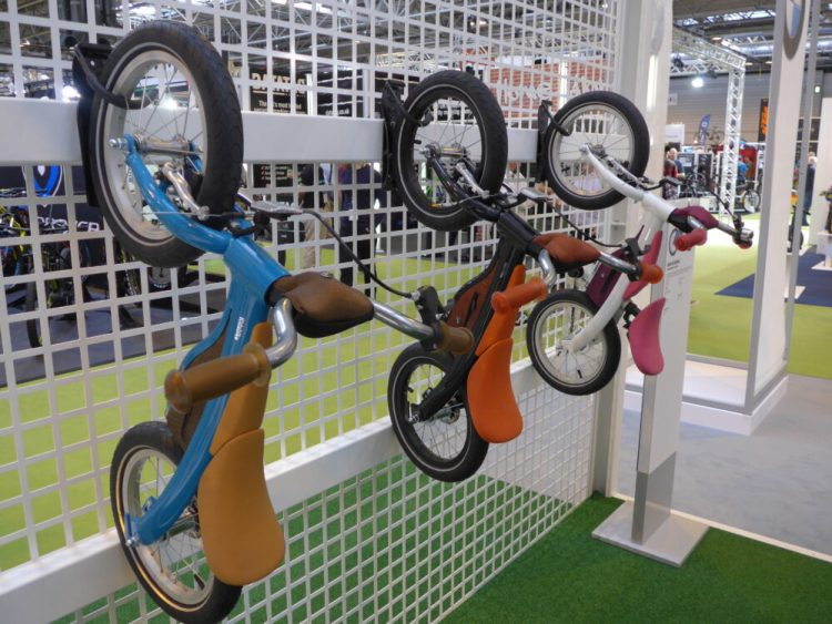 BMW balance bikes at 2016 Cycle Show