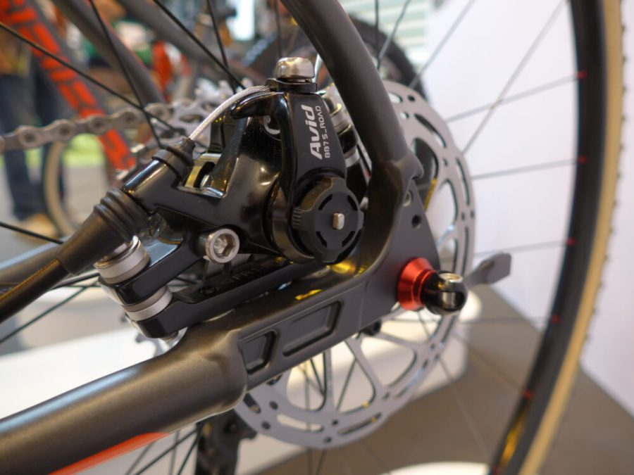 Detail of the gearing on an Islabikes Pro-Series kids bike