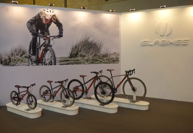 The Islabike Pro Series on display at the 2016 Cycle Show