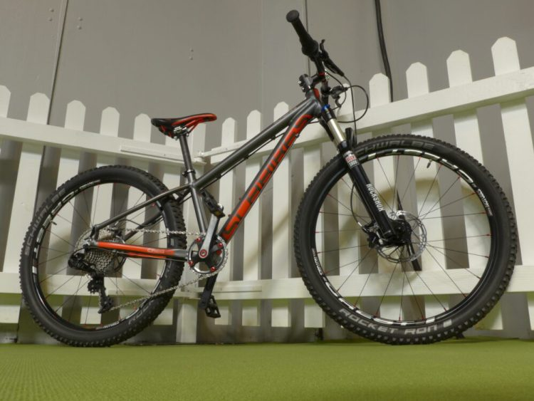 Islabikes Pro Series Creig 24 junior mountain bike at the 2016 Cycle Show
