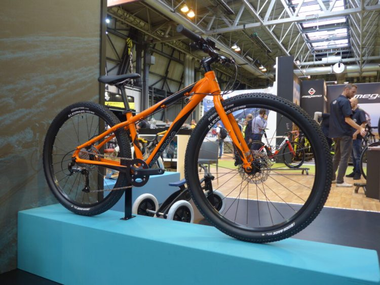 The new 2017 model Genesis Core 26 junior mountain bike was on display at the 2016 Cycle Show
