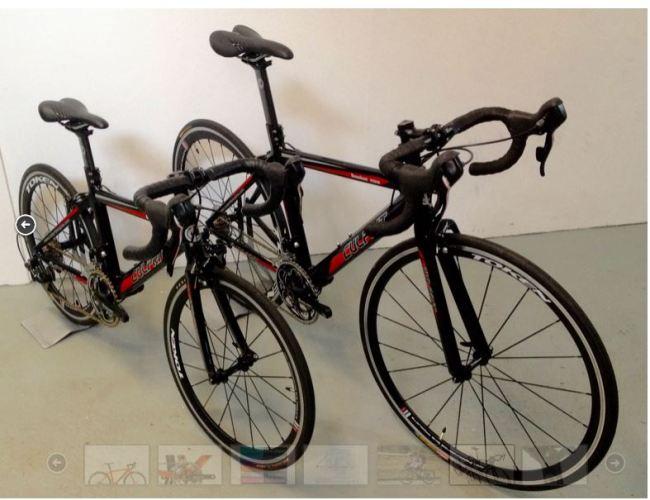 Culprit Junior One and Junior Two road bikes