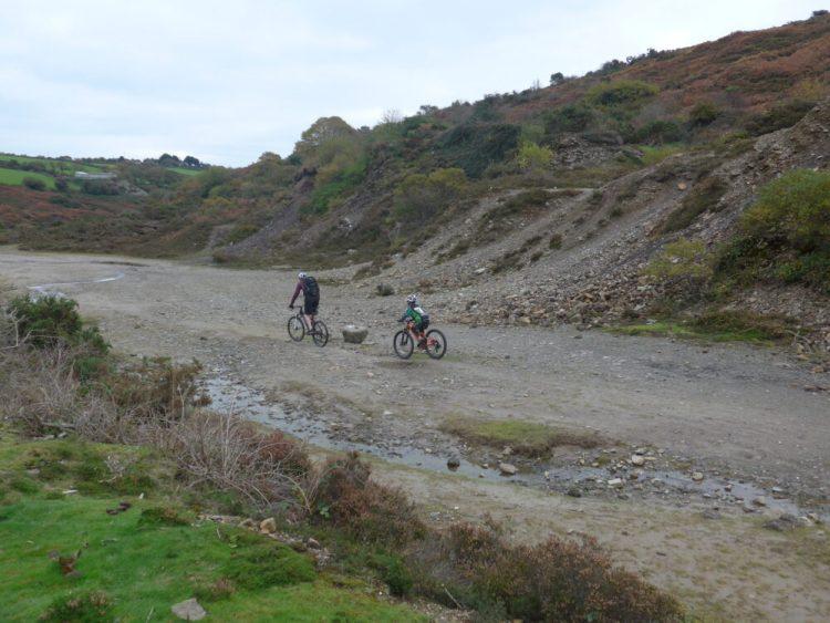 Cornwall coast to coast with kids - rougher stuff