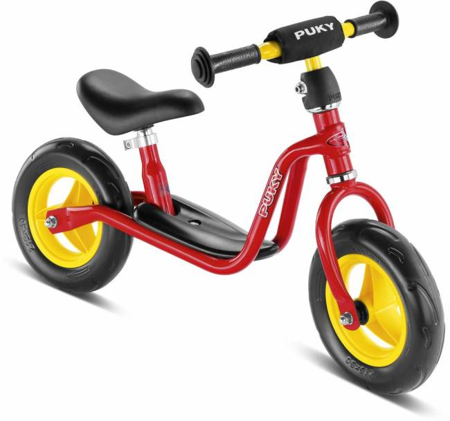 Puky LRM learner balance bike is the smallest of all the Puky Balance Bikes