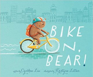 Christmas cycling gifts for toddlers - Bike on, Bear!