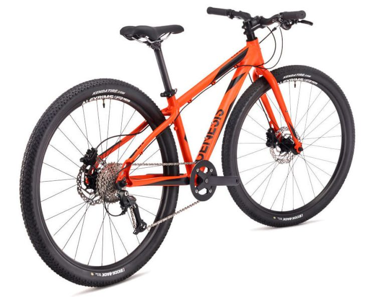 "Best kids 26"" wheel mountain bikes - Genesis Core Jr 26 in Orange"