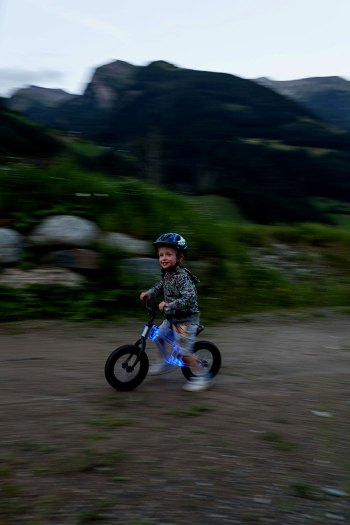 New Light Up Balance Bike Released The Phantom Ride