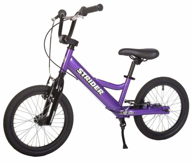 "The best balance bike for a teenager is the Strider Youth 16"" wheel"