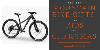 Christmas presents for cycling kids - mountain bike gifts 2016