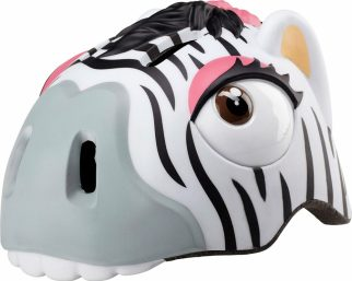 best cycling presents for a 4 year old this Christmas - Crazy Stuff kids Zebra cycling helmet