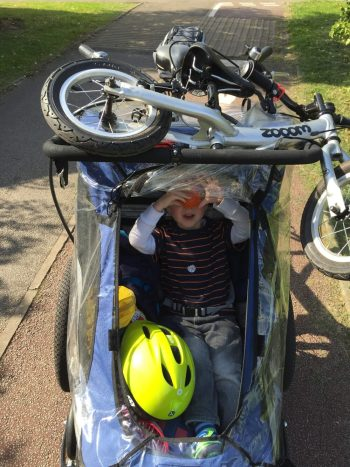 How to carry on cycling when your child is little