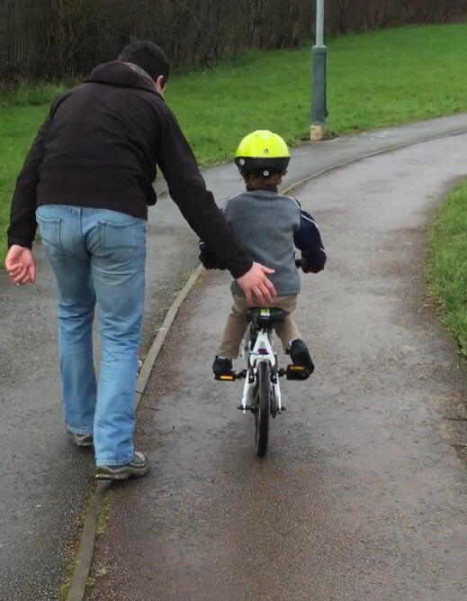 Learning to ride a Frog Bike