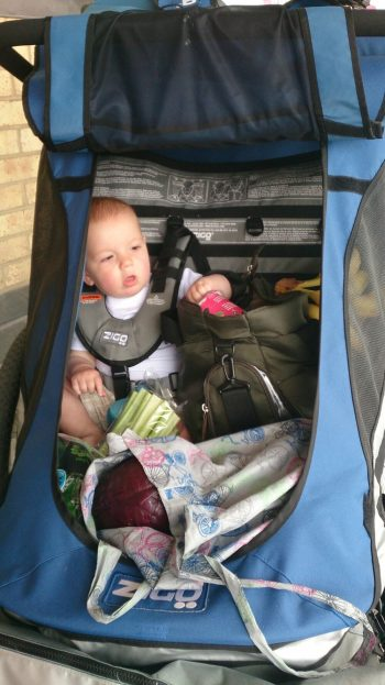 How to carry on cycling with a baby