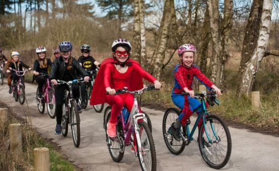 The finale of the Sustrans 2017 Big Pedal will be a Superheroes day