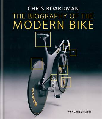 gift ideas for dads that cycle - Chris Boardman book The biography of the modern bike