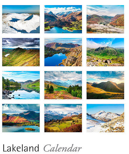 2017 Lake District calendar