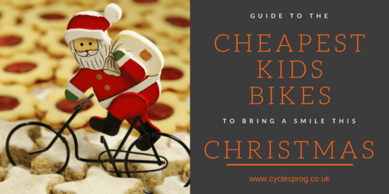 Cheapest kids bikes for Christmas 2016