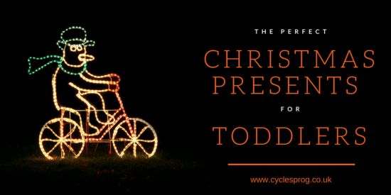 The best cycling Christmas presents for toddlers