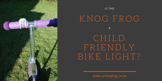 Is the Knog Frog a child friendly bike light?