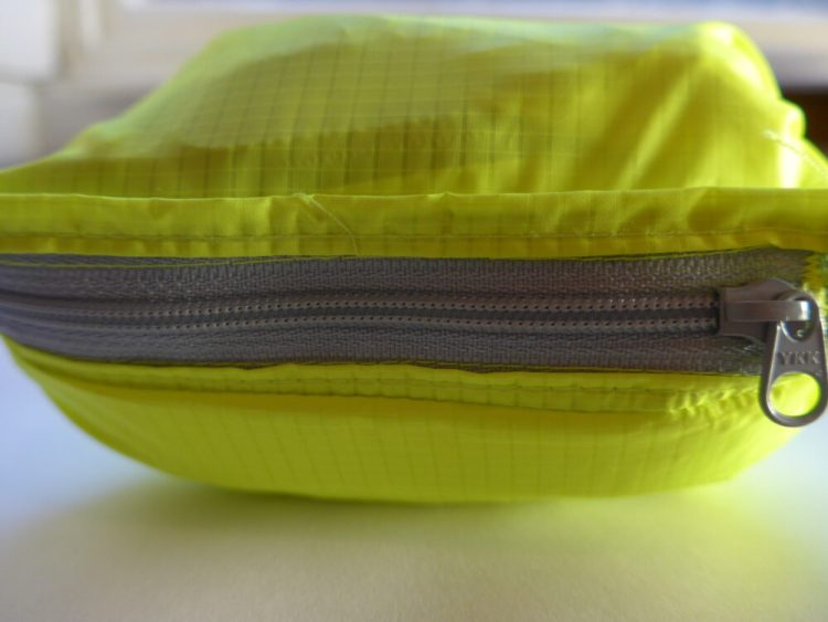 Polaris Strata kids waterproof cycling jacket pack-away pouch