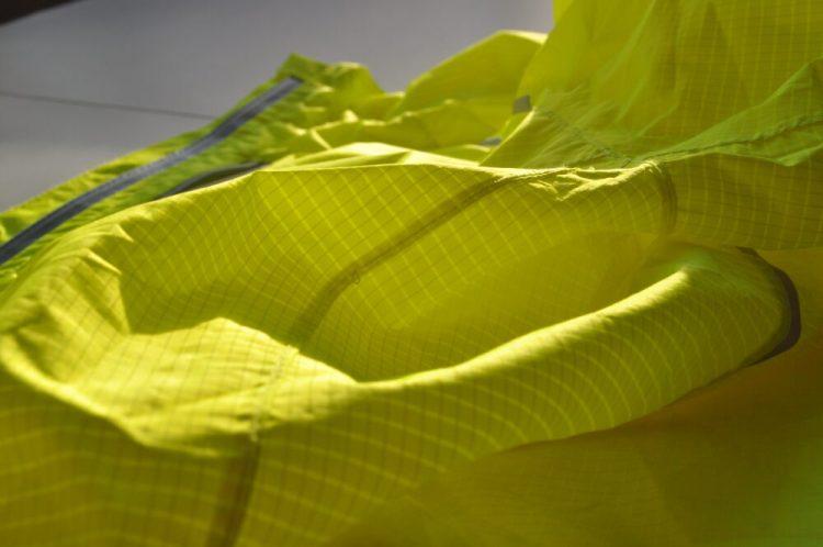 Polaris Strata kids waterproof cycling jacket ripstop fabric