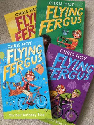 Sir Chris Hoy's Flying Fergus book range