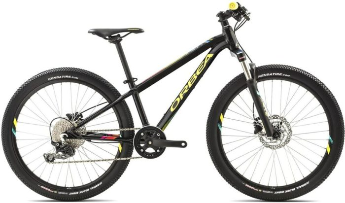kids 24 inch wheel mountain bikes - Orbea MX24 Trail with 60mm suspension forks