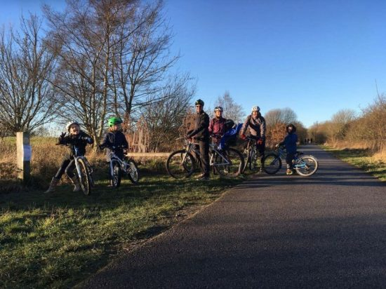 Harrogate to Ripley family cycle ride