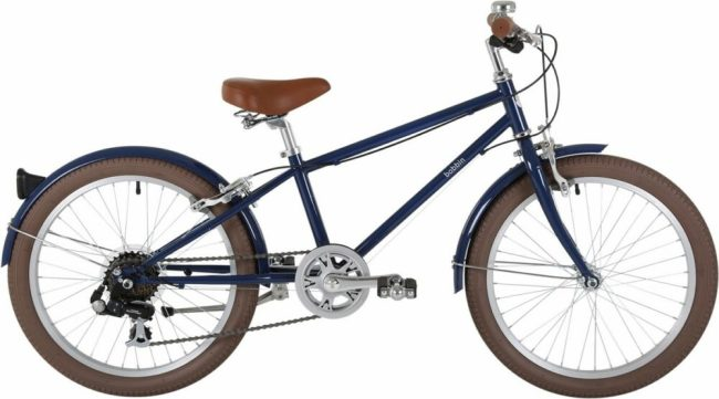 Bobbin Bikes Moonbug 20 inch kids bike in blueberry