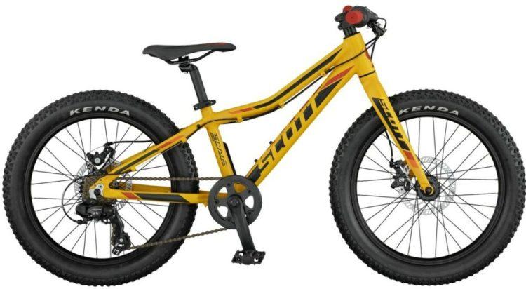 Scott Scale Jr Plus in yellow