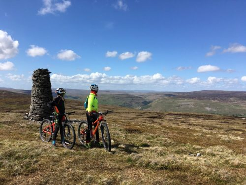 Views from the top of the world - riding the Islabikes Creig MTB