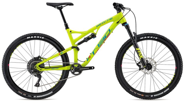 Whyte T-130SR in yellow and in xs frame size