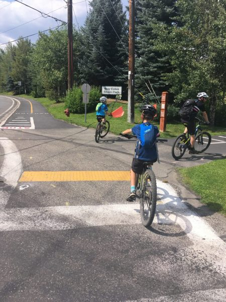 Cycling infrastructure in Ketchum Idaho