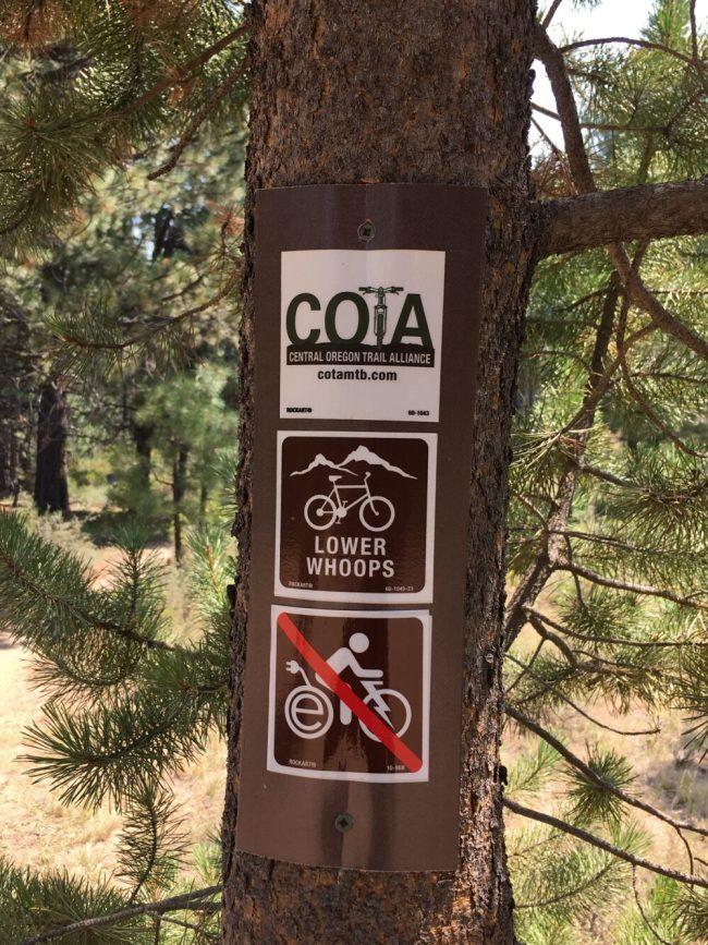 Lower Whoops Trail - Bend Oregon Mountain Biking