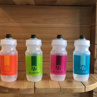 Islabikes water bottles come in a range of colours
