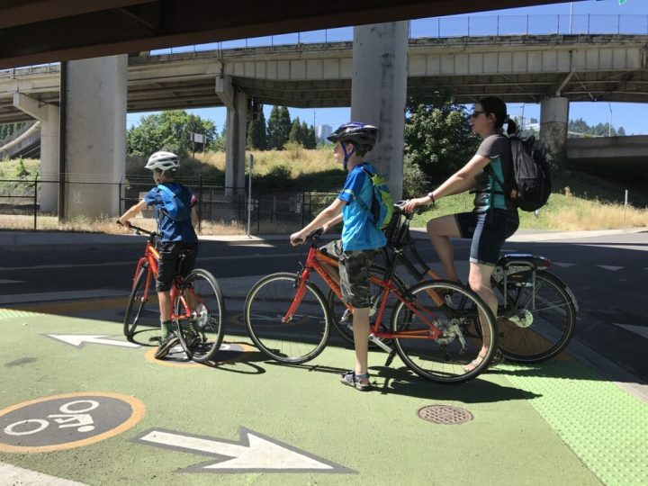 Cycling infrastructure, Portland Oregon