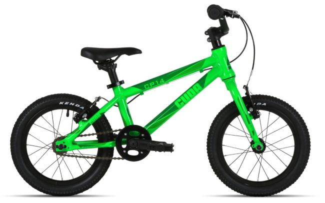 """Cuda CP14 Starter bike - 14"""" wheel kids pedal bike ideal for children aged 3 years old and 4 years old who can pedal by themselves"""