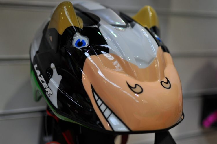 Cycle Show 2017 - Lazer fun cow cycle helmet